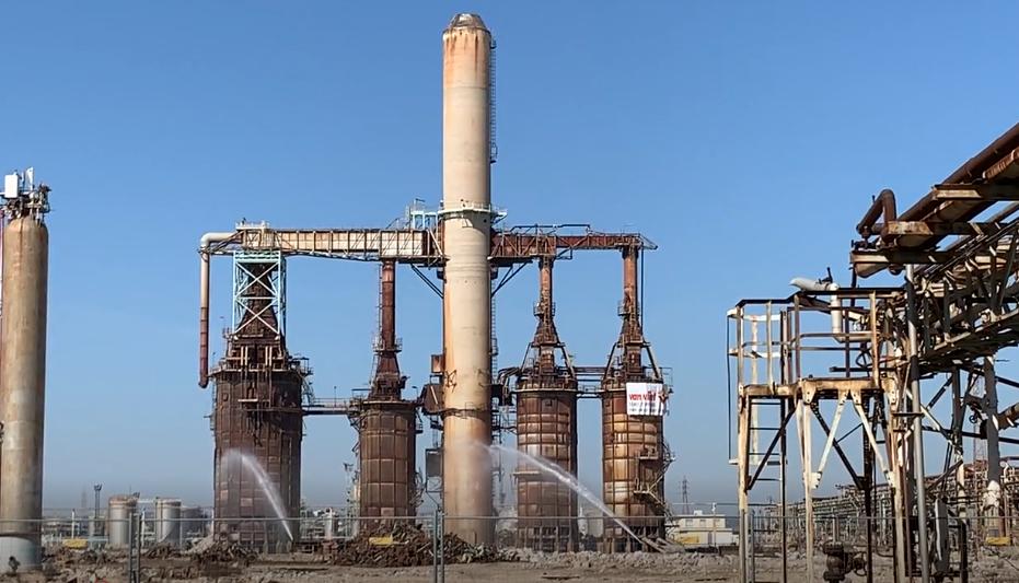 Marseille Oil Refinery  2019