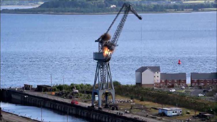 Port Glasgow  July 2017