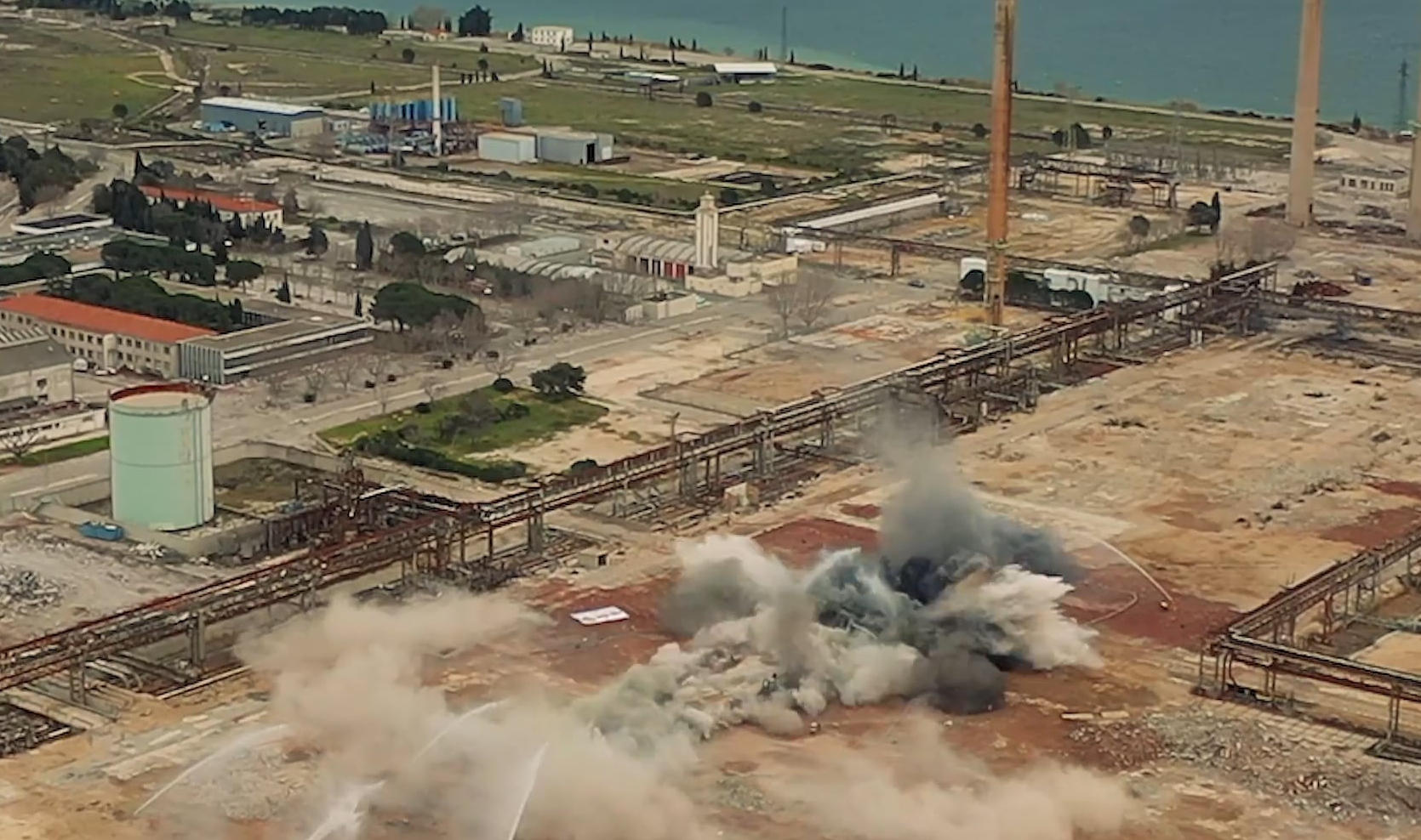 Marseille Oil Refinery 2020